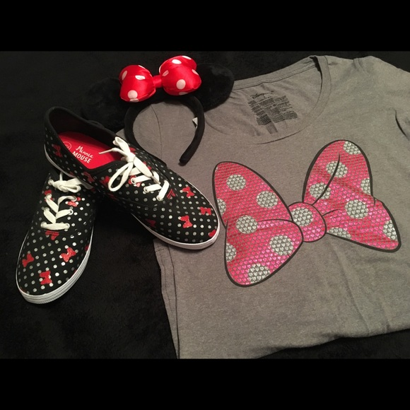 Shoes | Minnie Mouse Tennis Sneakers